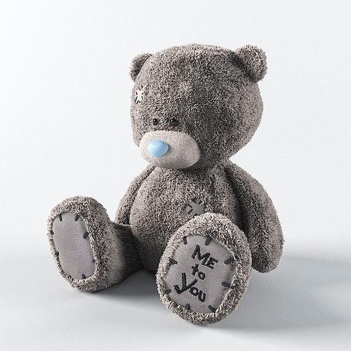 teddy 3d model max obj mtl fbx 1