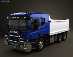 3d scania r 420 tipper truck 2004