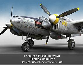 Lockheed P-38 Lightning - Florida Cracker 3D