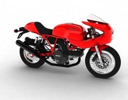 3D model Ducati 1000S 2009