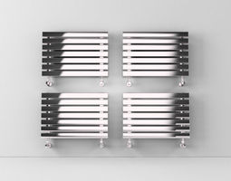 3D Heated towel rails 2