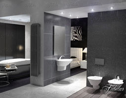 Bathroom 3d Model bathroom 3d models | download 3d bathroom files | cgtrader