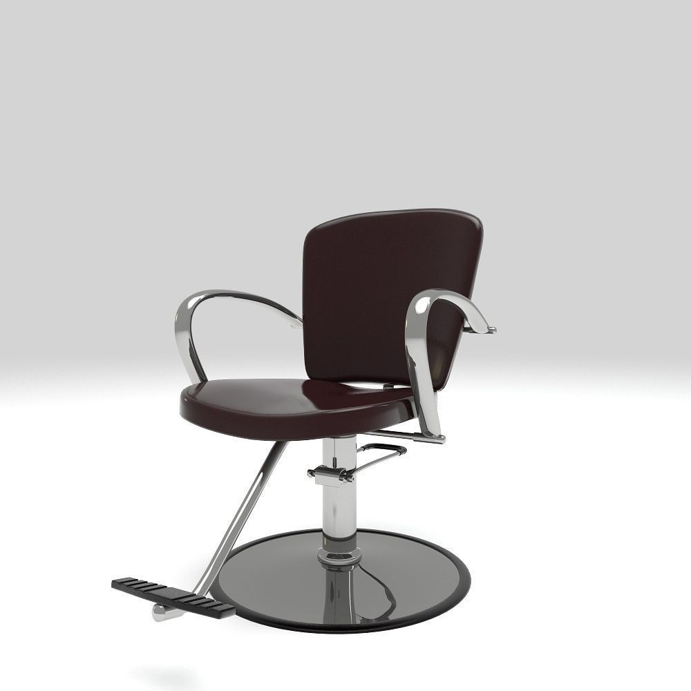salon styling chair 3d model max obj mtl c4d lwo lw lws ma mb 1 ...  sc 1 st  CGTrader & Salon Styling Chair 3D | CGTrader