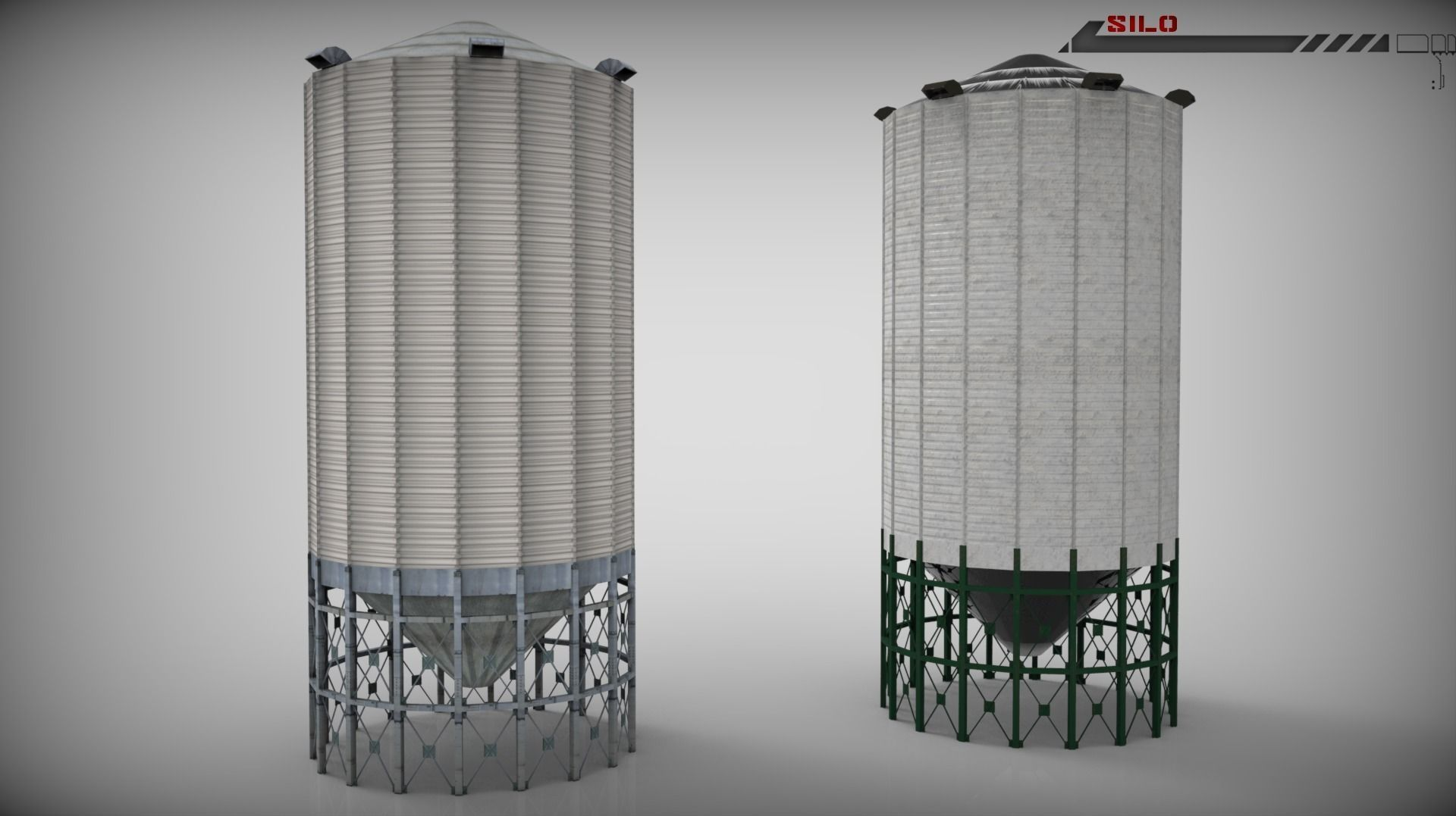 Silo Lowpoly
