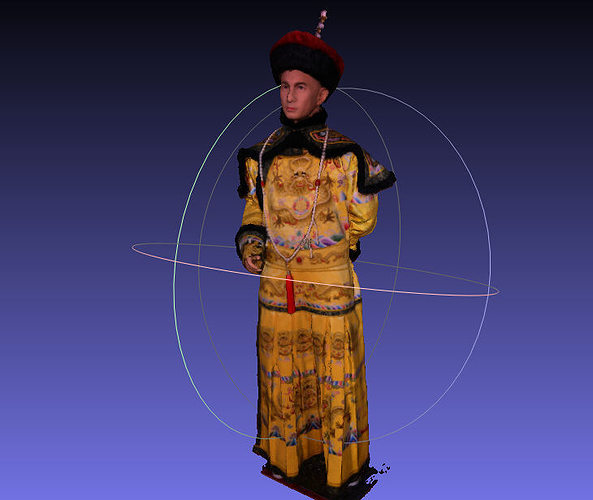 3d Chinese Star Emperor Nicky Wu Cgtrader