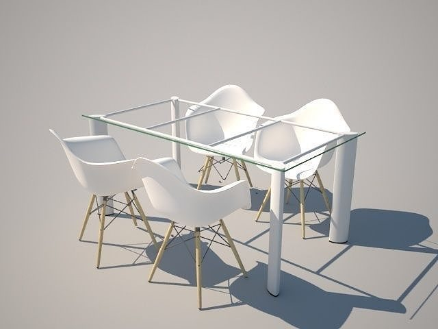 Dinning Table 3D model | CGTrader