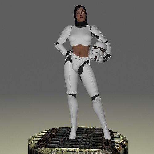 femtrooper 3d model obj mtl fbx ma mb stl 1