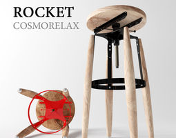 Rockets from Cosmo 3D model