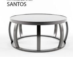 3D model Santos