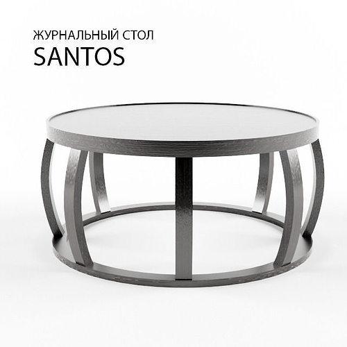 santos 3d model max fbx 1