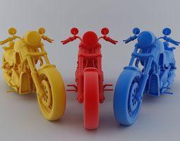 Heavy Bike 3D Model 3D Model
