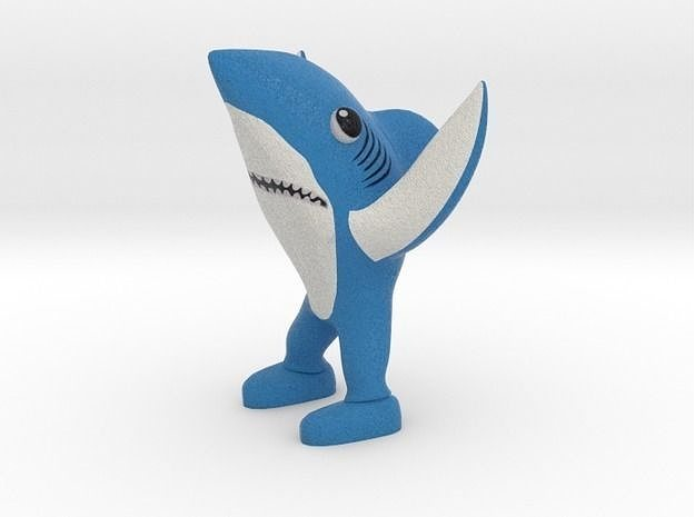 left shark 3d model stl 1