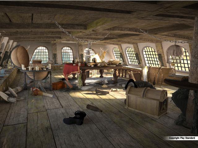 5pcs The Black Pearl Pirate Ship Waterproof Temporary