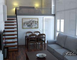 living room 22 3d model