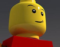 3D Lego Man