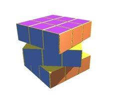 Cube Rubix 3D model