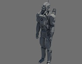3D Elysium Robot