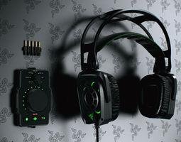 Razer Tiamat Headsets 3D