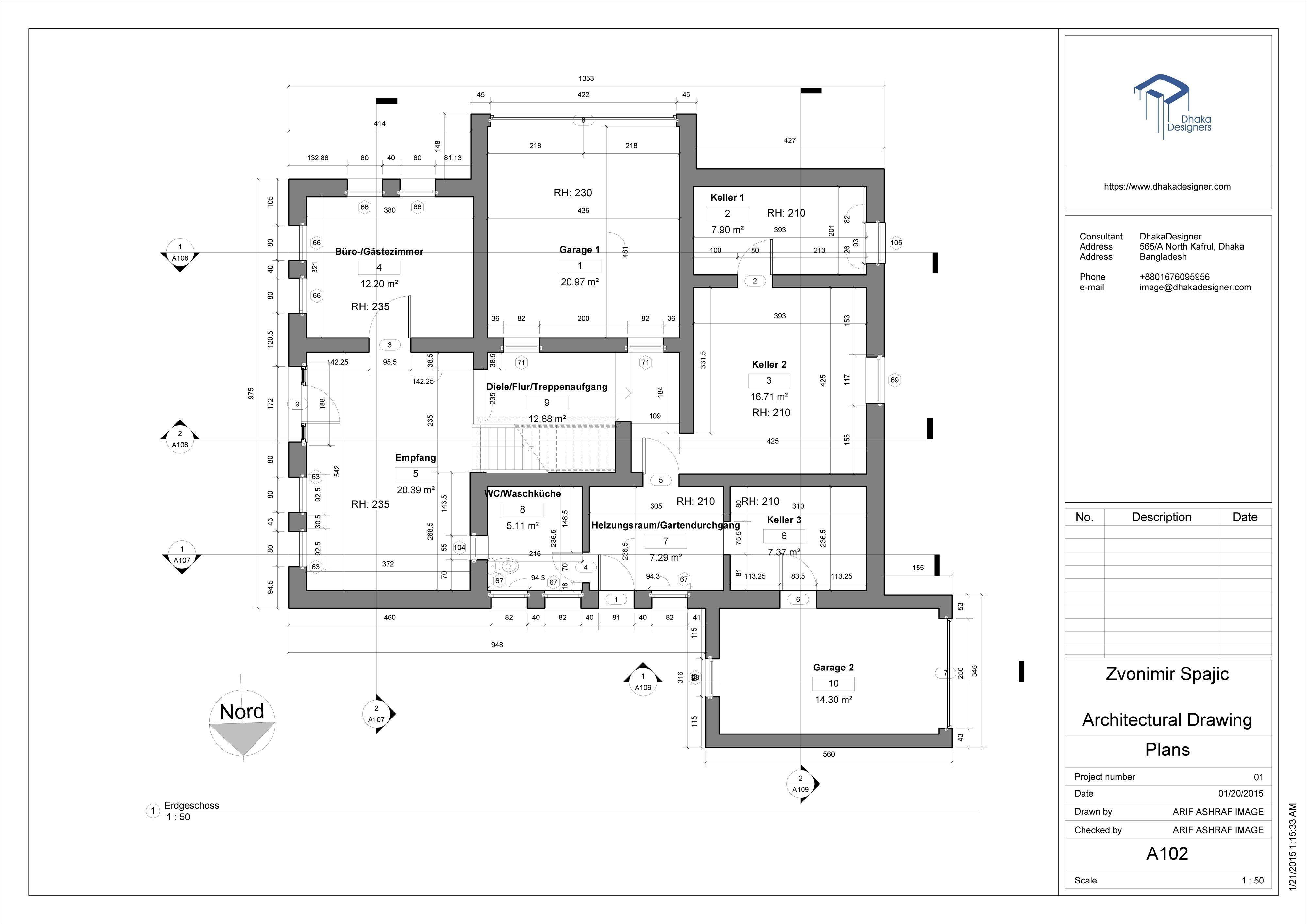 3 Bedroom Floor Plan Nigeria