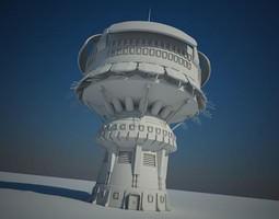 3D Sci Fi Building 14