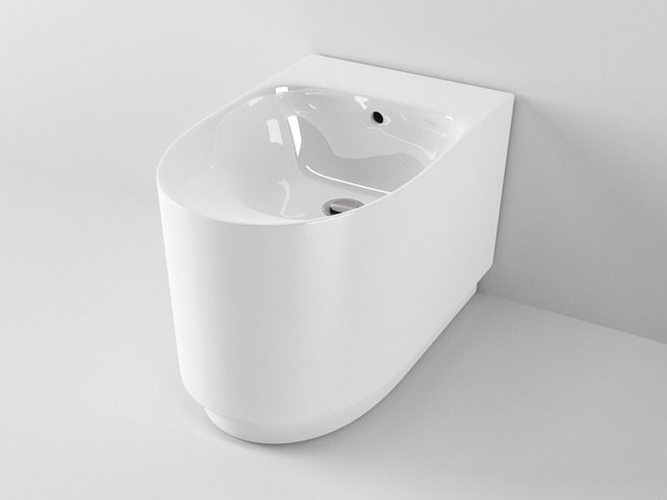 ideal standard moments bidet 3d model c4d. Black Bedroom Furniture Sets. Home Design Ideas