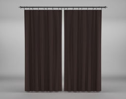 Curtains N30 3D model