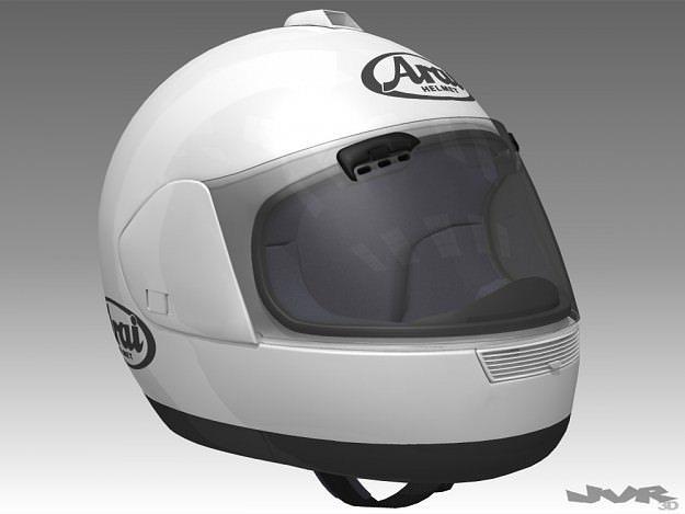 motorcycle helmet 3d model max obj 3ds fbx dxf mtl 1