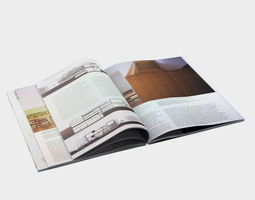 3d model open book 9