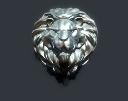 3D printable model Lion Head 2