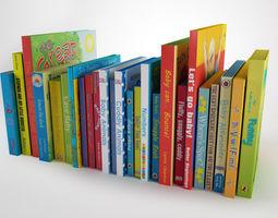3D Children book collection