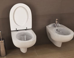 3D Ideal standard Ala toilet