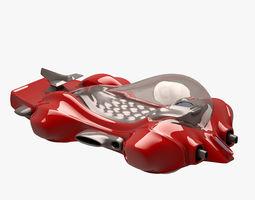 Car 001 FUTURISTIC 3D asset