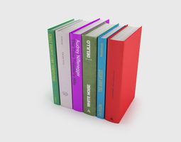 back book only 9   3d model