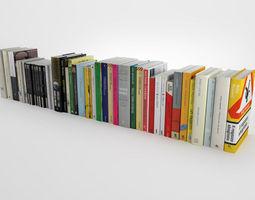3d model novel collection