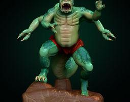 3d print model green creature
