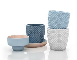 Design Cup Set 1 3D model