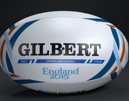 3d model gilbert official rwc 2015