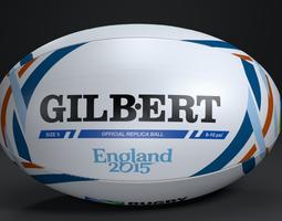 GILBERT Official RWC 2015 3D Model