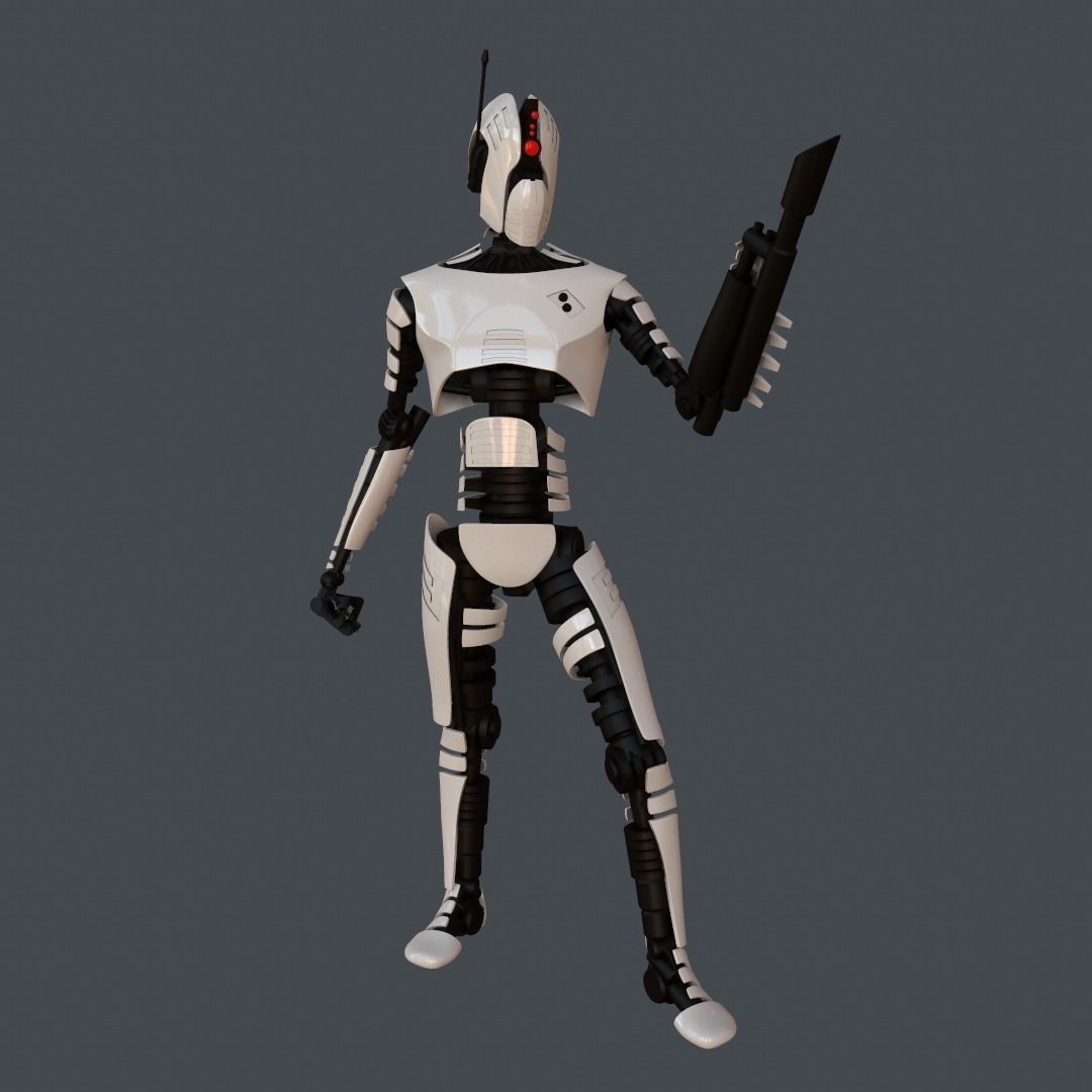 Robot Assasin | 3D model