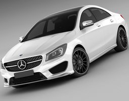 Mercedes CLA AMG 3D