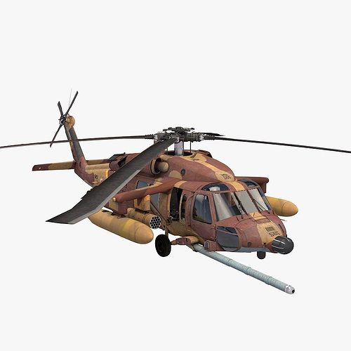 uh-60 blackhawk idfaf 3d model max obj mtl 3ds fbx c4d dae 1