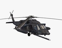uh-60 blackhawk soar 3d model obj 3ds fbx c4d dae