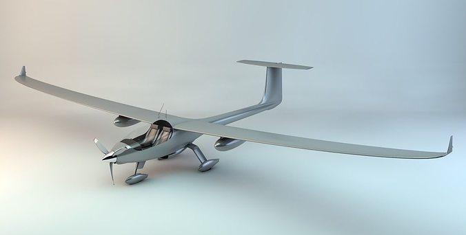 stemme s15 power glider 3d model max obj mtl 3ds fbx c4d skp 1
