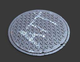 ATT Manhole Cover 3D