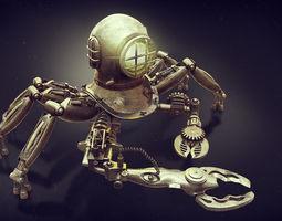 3d robot diver