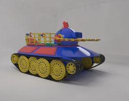 3D model Toy robot submarine