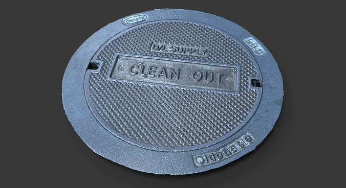 Clean Out Utility Cover