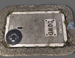 DCWD Utility Cover 3D