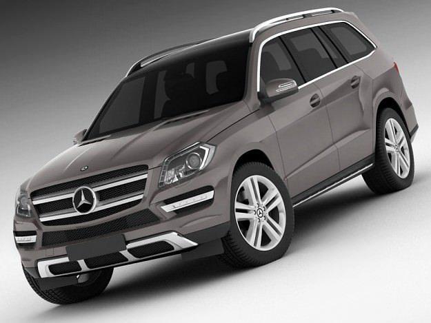 3D Mercedes GL 2013  CGTrader