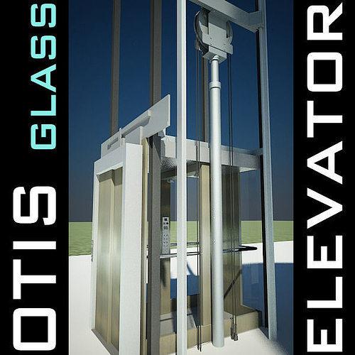 elevator lift 3d model produced by otis 3d model max obj 3ds fbx c4d lwo lw lws 1